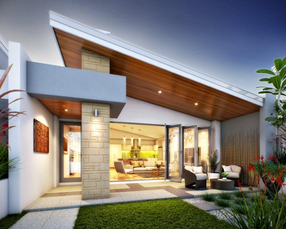 The beach house to be build close to the beach on a for Australian home interior designs