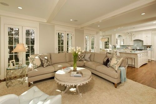 Houzz Home Design Decorating And Remodeling Ideas And Inspiratio Living Room And Kitchen Design Living Room Dining Room Combo Traditional Design Living Room