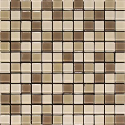 Home Depot Glass Mosaic Tile Brown Mix 4mm Glass Blend Wall Tile Sagcon625 So Home Depot Canada Wall Tiles Glass Mosaic Tiles Mosaic Glass