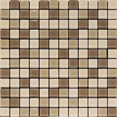 Home Depot Glass Mosaic Tile Brown Mix 4mm Glass Blend Wall Tile Sagcon625 So Home Depot Canada Wall Tiles Glass Mosaic Tiles Mosaic Glass