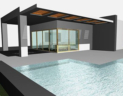 """Check out new work on my @Behance portfolio: """"Summer house"""" http://be.net/gallery/32324757/Summer-house"""