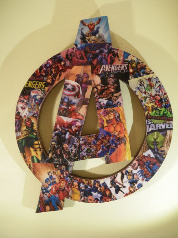 Avengers Bedroom Decor - Superhero Wall Art - Marvel Themed Baby