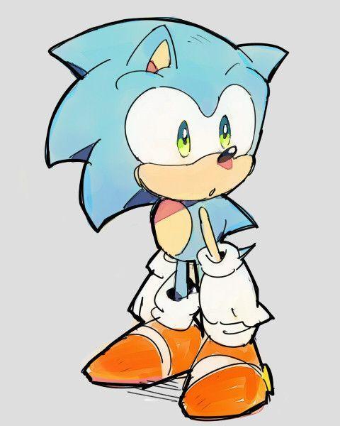 How To Draw Classic Sonic Classic Sonic Drawing Miren El Trabajo