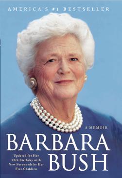 Barbara Bush: A Memoir signed by Barbara Bush