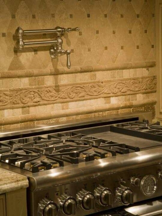 Hot Water Tap Over The A Stove Kitchen Home Decor