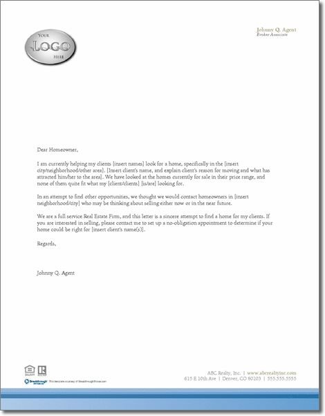 The Magic Letter Real Estate Pinterest Real estate - letter of sale