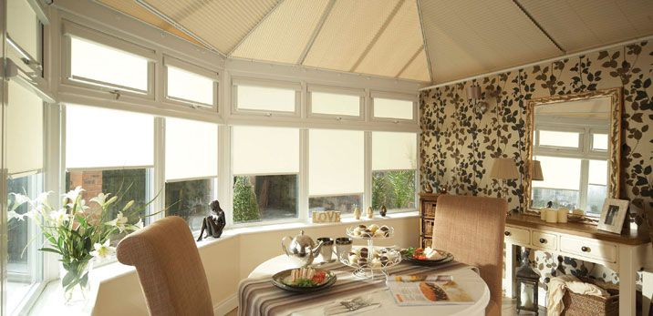 Buying and fitting blinds to keep the conservatory cool is simple with Blinds Boutique!