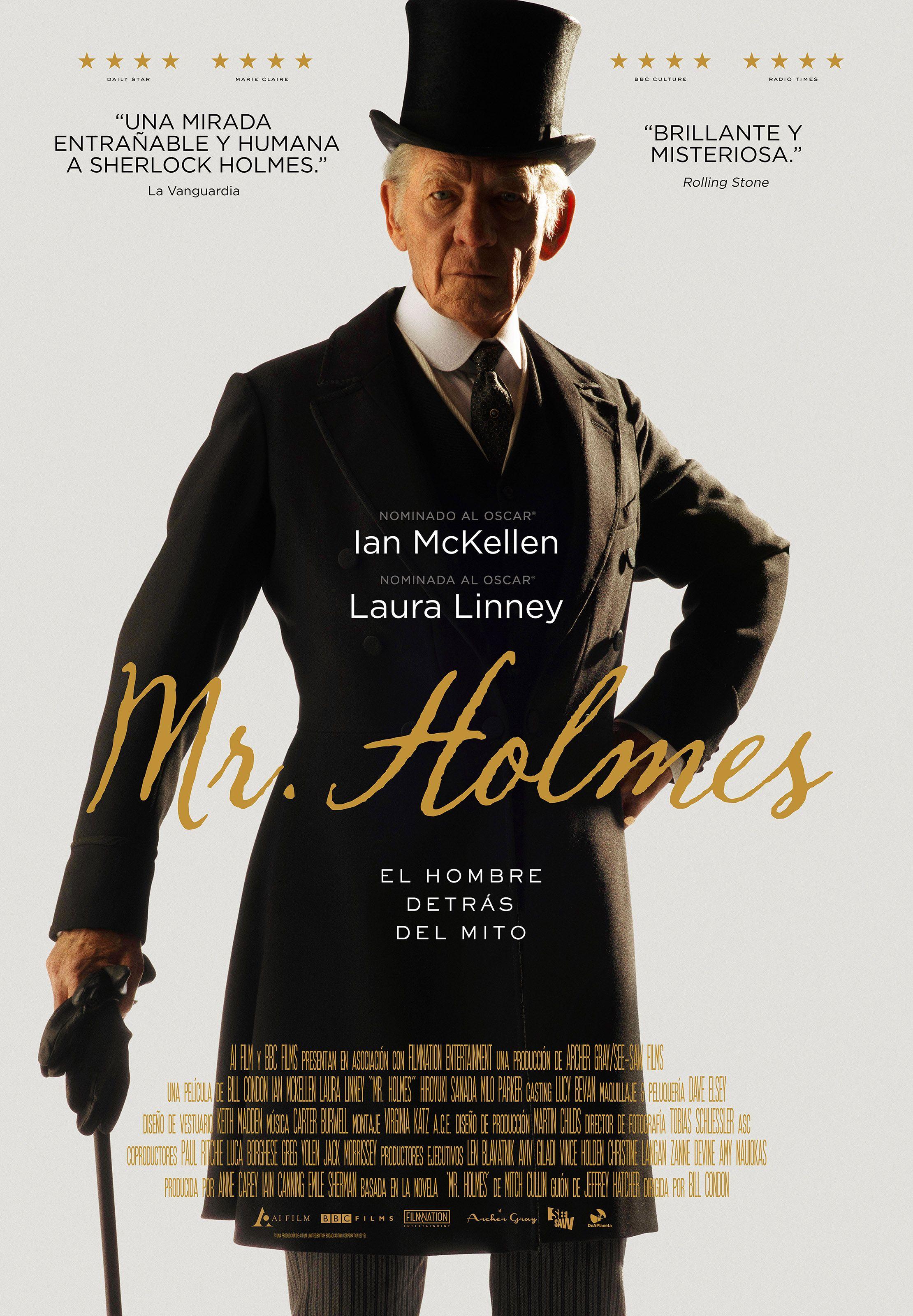 Macson Events | Consigue dos entradas para ver la #película Mr. Holmes, con la colaboración de Deaplaneta. #cine #estreno #BeBritish