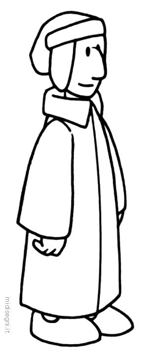 Dante Alighieri Illustrato Per I Bambini Disegni Disegni Da Colorare Disegni Da Colorare Per Bambini