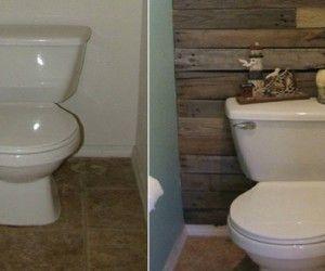 D co wc id e couleur et peinture pour toilettes sympa deco - Decoration wc originale ...