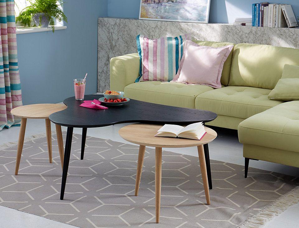GMK Home  Living Couchtisch «Calluna», in 2 unterschiedlichen - couchtisch aus massivholz 25 designs