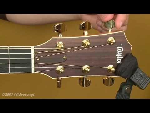 restringing an acoustic guitar tips n tricks acoustic guitar guitar tutorial guitar lessons. Black Bedroom Furniture Sets. Home Design Ideas