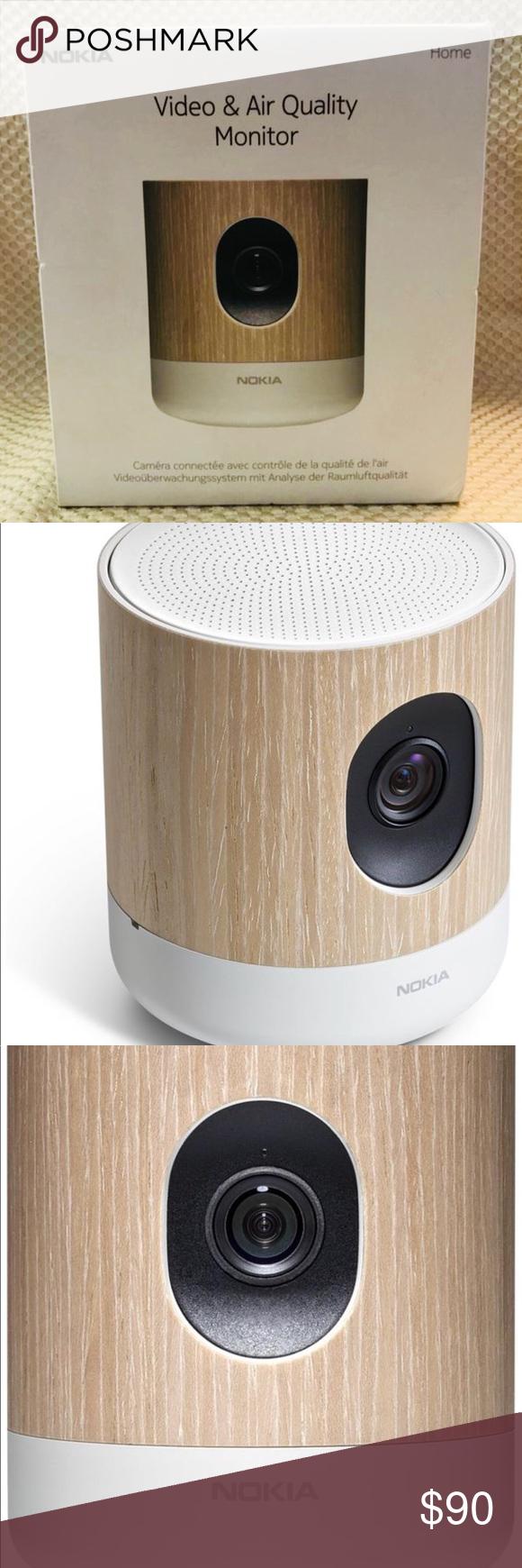 Nokia Home Video & Air Quality Monitor Air quality