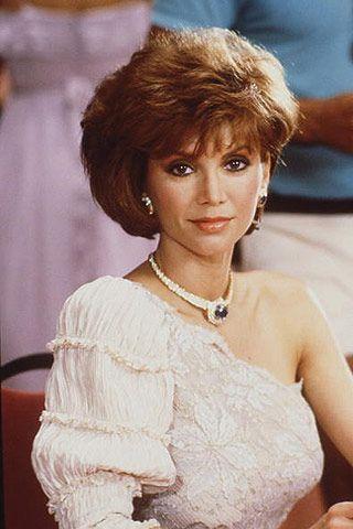Victoria Principal as Pam Ewing.