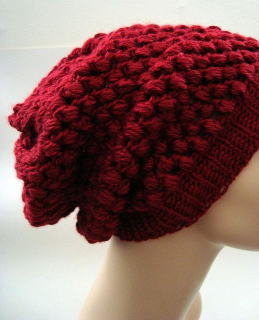 Ravelry Urban Jungle Crocheted Slouchy Beanie Pattern By Vickie