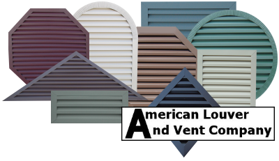 American Louver And Vent Company Custom Gable Vents For