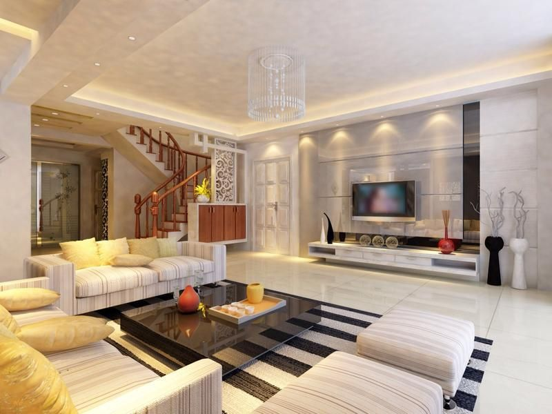 Wonderful LED TV Panels Designs For Living Room And Bedrooms