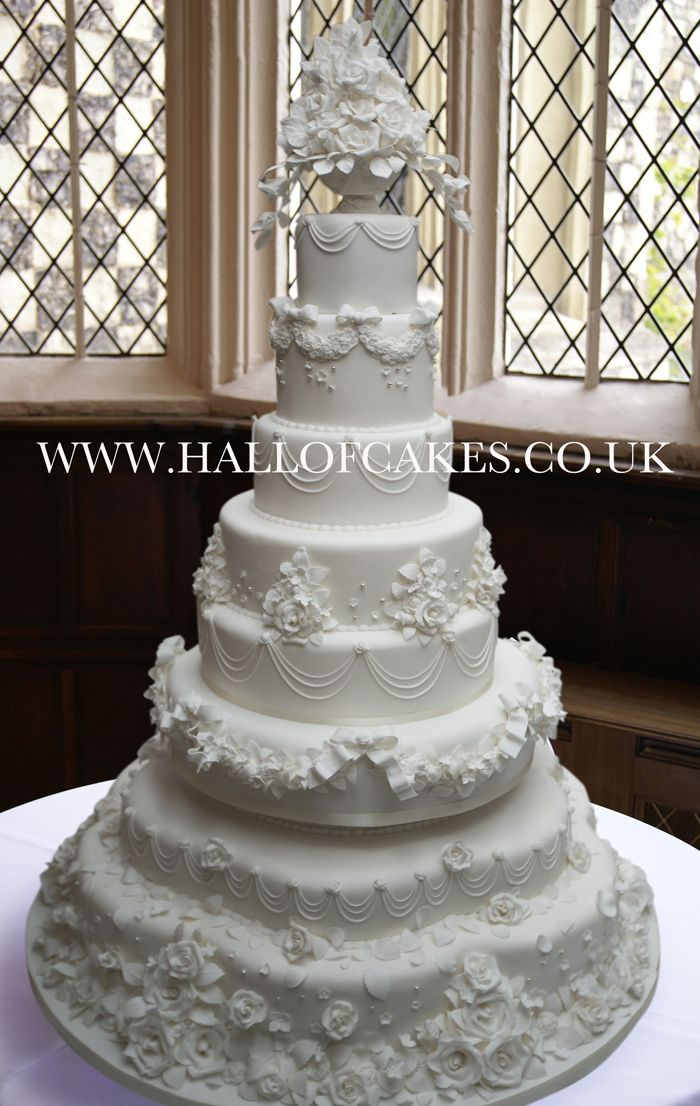 Classic Victorian 8 tier Wedding Cake by Hall of Cakes | "|700|1106|?|5bccde4287f65c1c668d40169022fbe6|False|UNLIKELY|0.3319490849971771