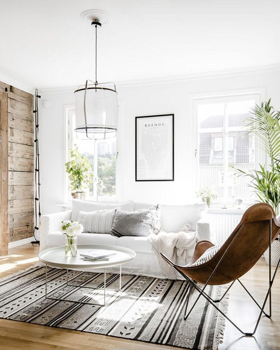 Du Cuir Dans La Deco Du Salon Shake My Blog Decor Interieur Elegant Deco Salon Interieur Maison