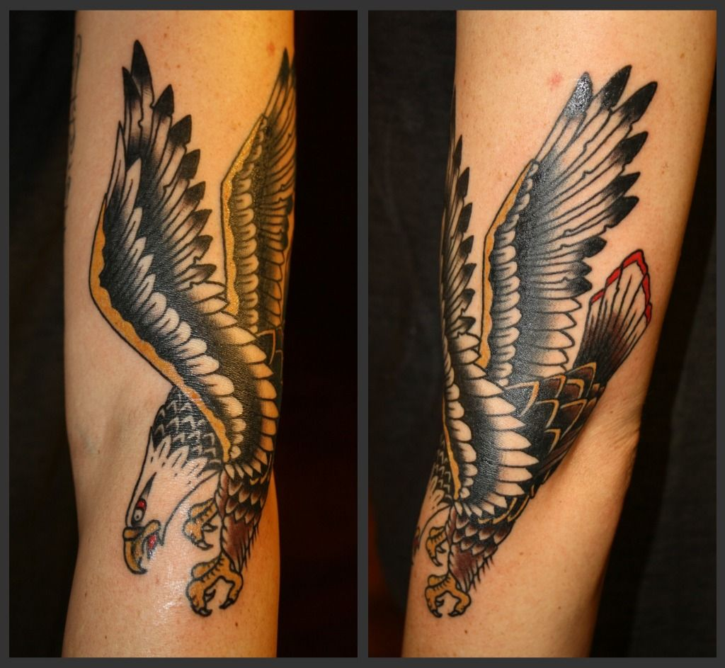 Image result for forearm tattoo eagle | Tattoos ...