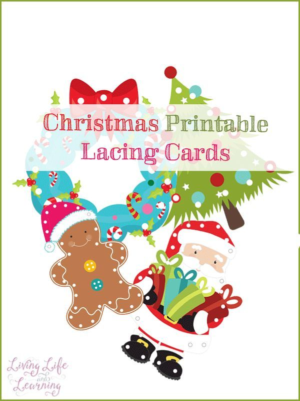 photograph relating to Printable Lacing Cards named Xmas Lacing Playing cards for Fantastic Engine Techniques Xmas