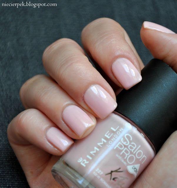 Rimmel Salon Pro New Romantic Romantic Nails Rimmel Nail Polish