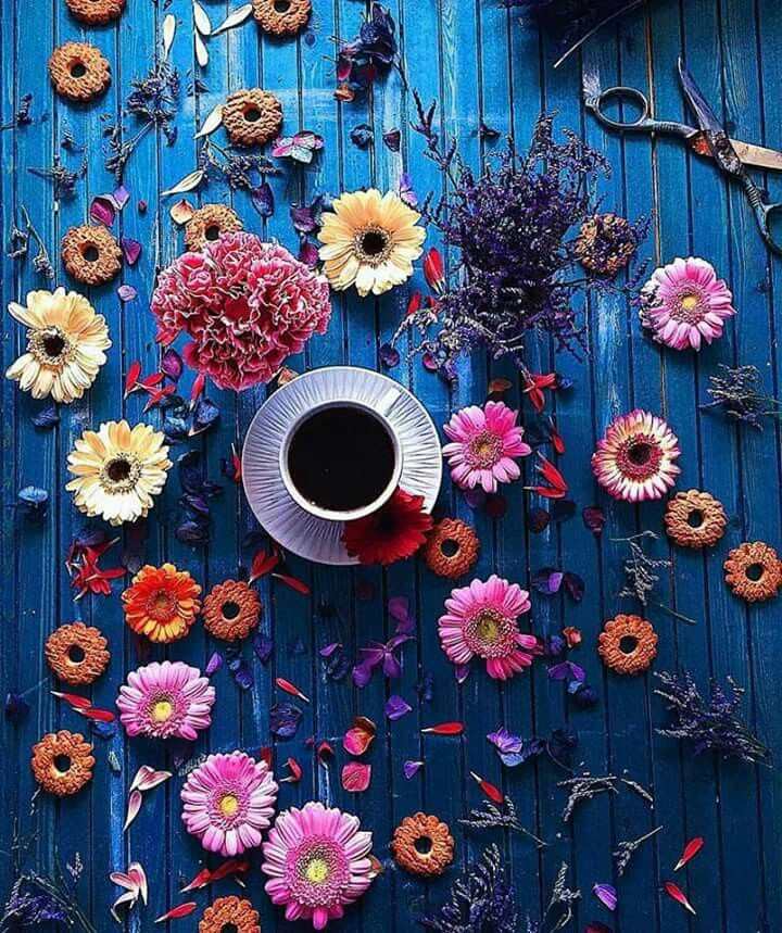 Pin by GhadA Elsayed on Flowers & Roses Coffee, books