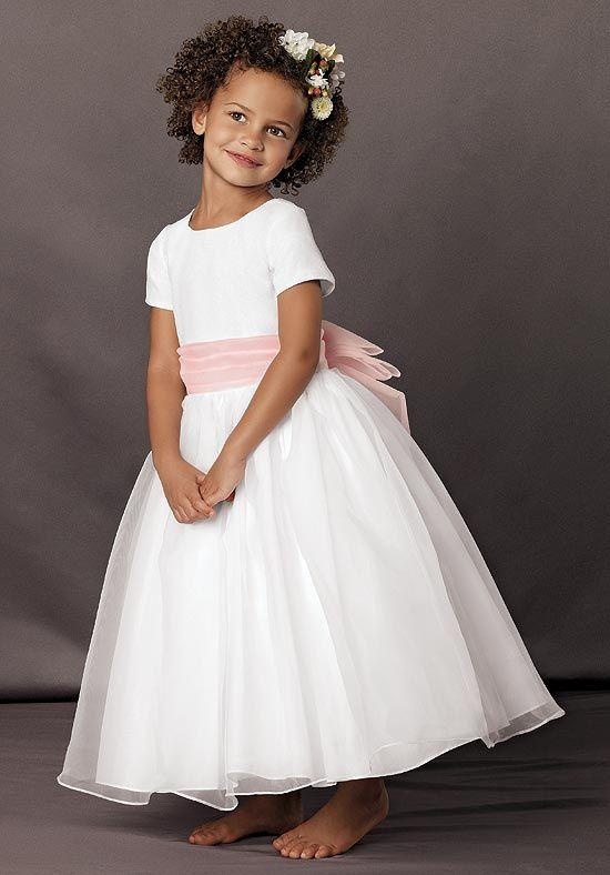 dress for flower girls at weddings | ... sash flower wrinkles ...