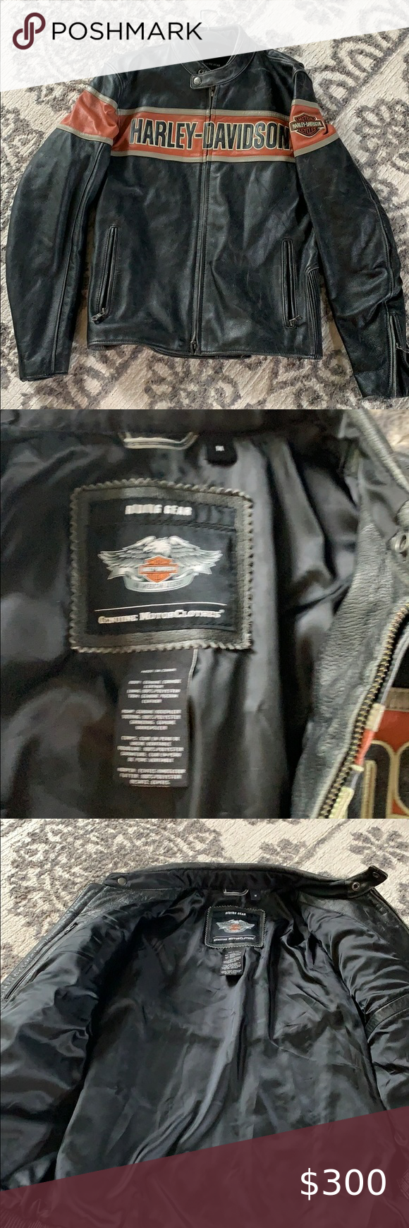 Men's Harley Davidson Victory Lane Leather Jacket in 2020