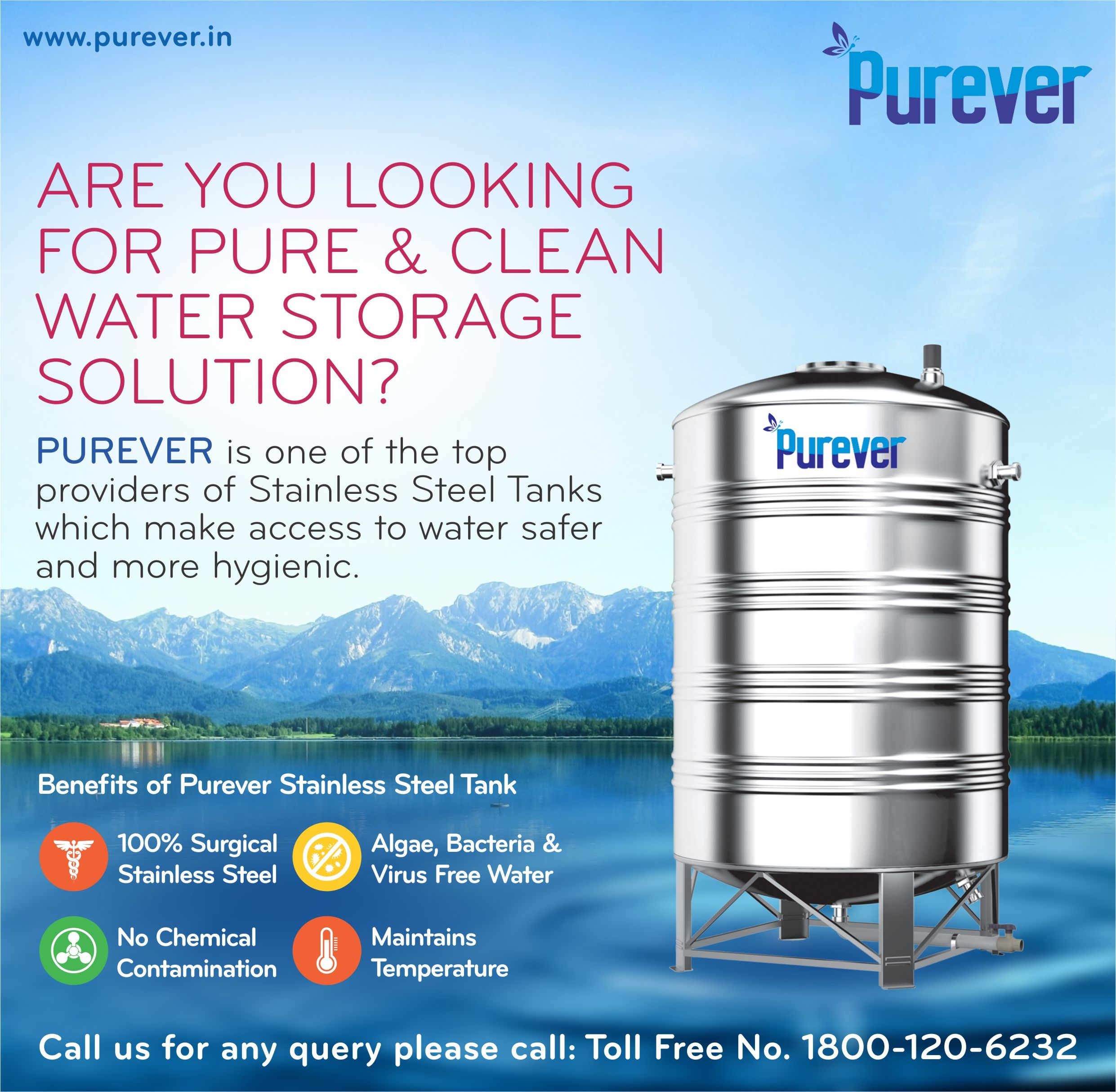Are You Looking Pure Clean Water Storage Tank Purever Top Stainless Steel Water Tank Provider More Safe More Steel Water Tanks Water Tank Water Storage