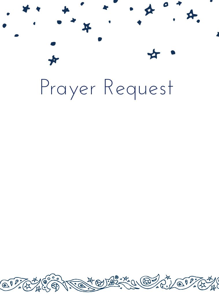 Prayer Request Form  Mops     Mops Theme Mops