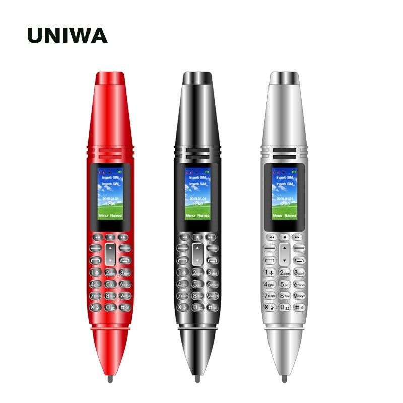 UNIWA Mini Pen Mobile Phone Magic Voice Kid Bluetooth