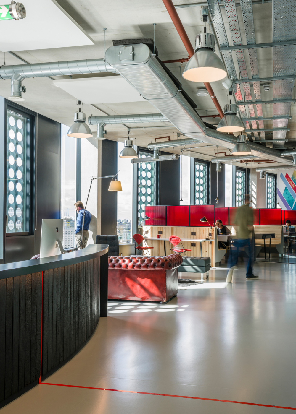 Spark44 Offices London Office Snapshots Office Interior Design Interior Architecture Design Modular Lounges