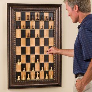 Vertical Chess Set Trahantverk Hantverksideer Hemmapyssel