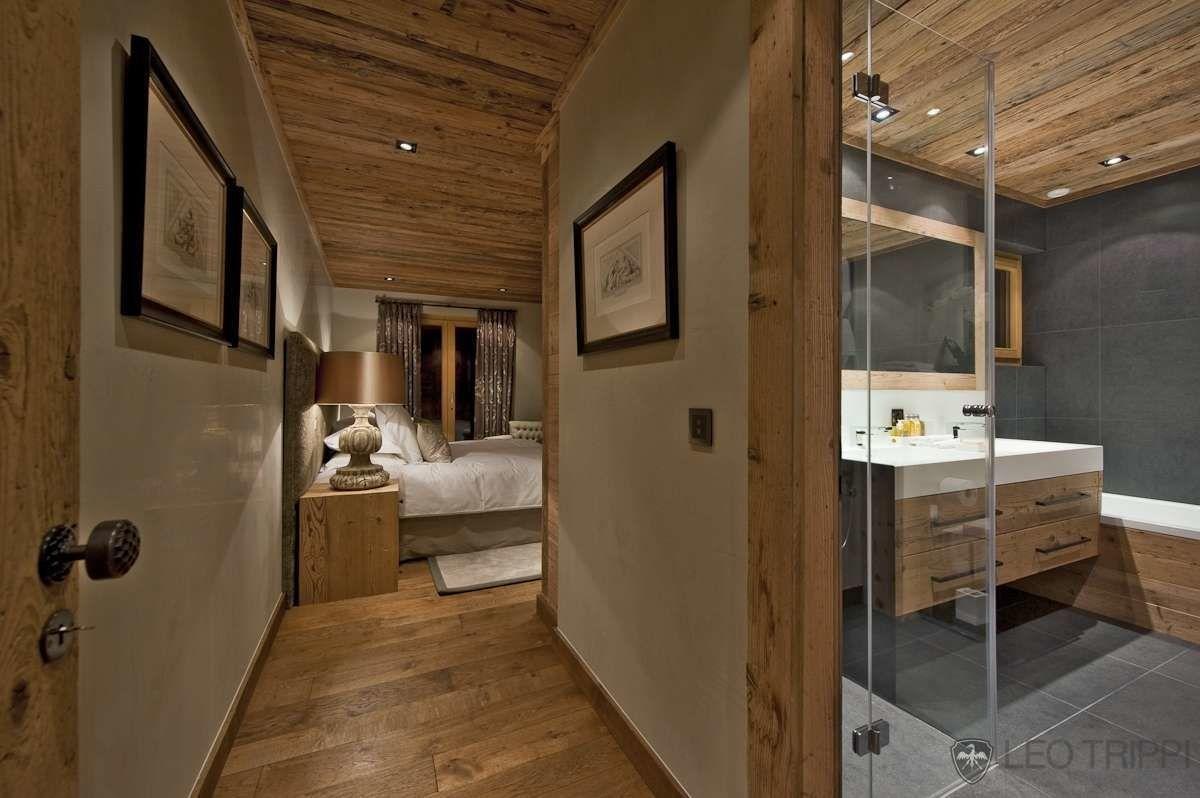 Déco chalet | deco montagne en 2019 | Salle de bains chalet ...