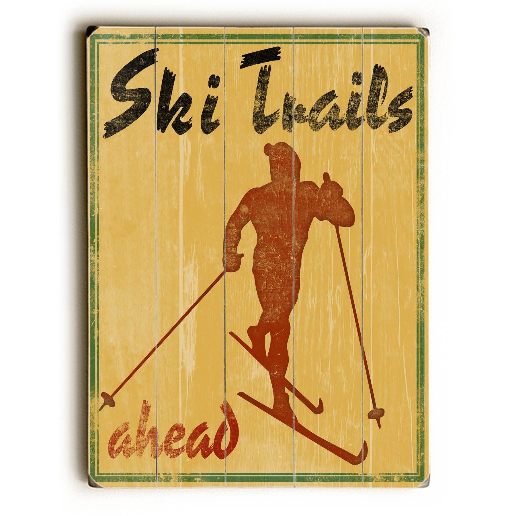 Fine Ski Lodge Wall Decor Collection - Wall Art Collections ...