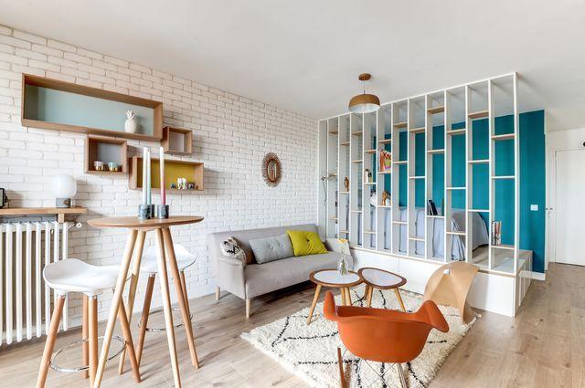 Aménager une chambre dans un studio Nordic design, Haus and Studio