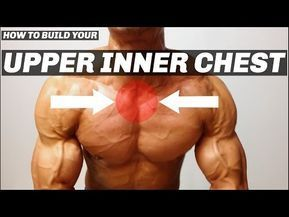 best chest exercises  inner chest workout best chest