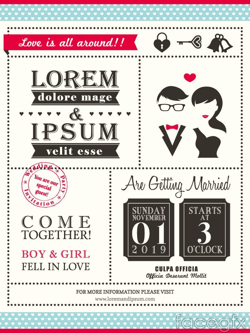 Free Invitation Card Templates For Word Inspiration Creative Artsword Wedding Invitation Card Vector  Free Vectors .
