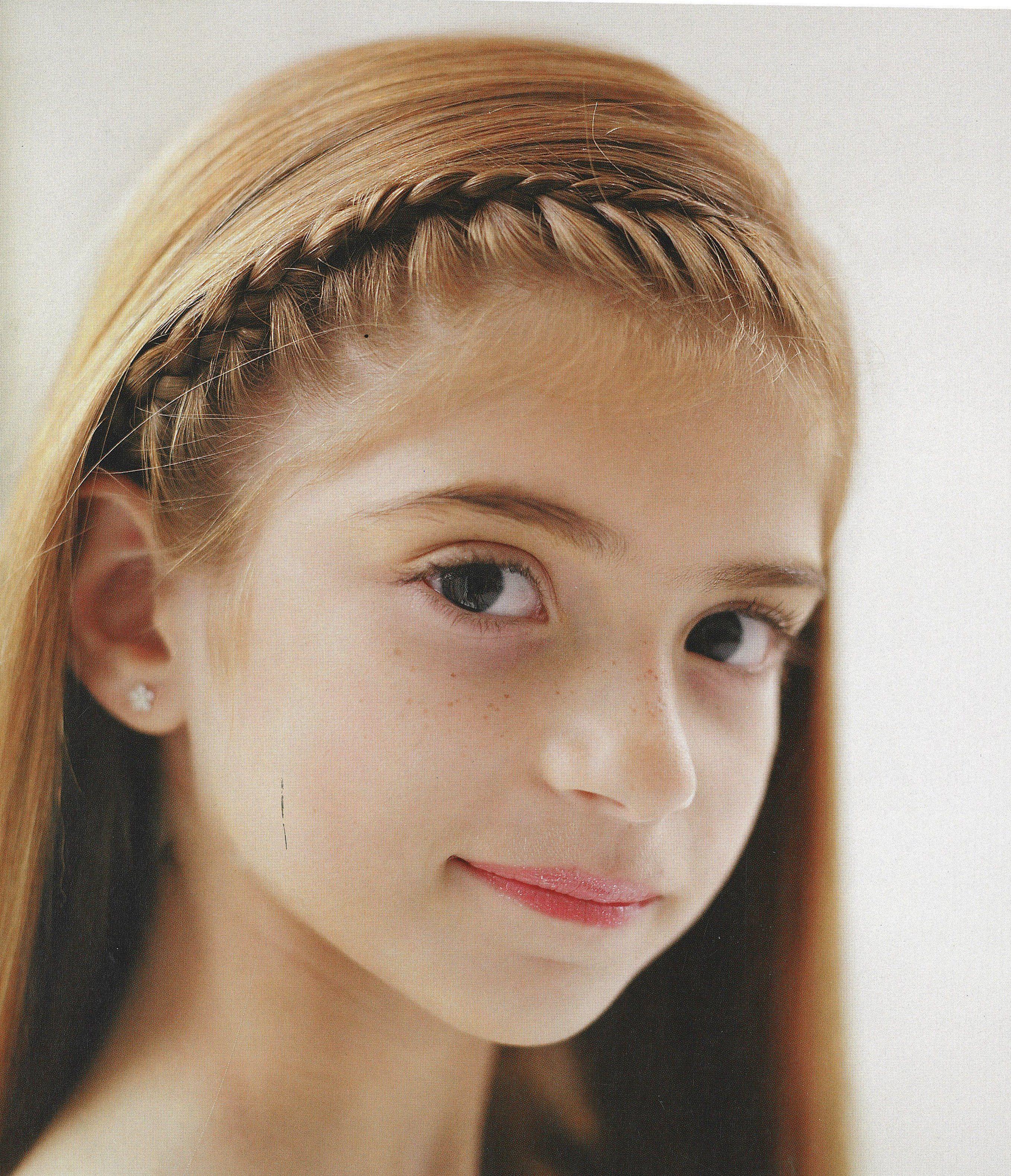 Sensational Recital Dance Recital And Little Girl Hairstyles On Pinterest Short Hairstyles Gunalazisus
