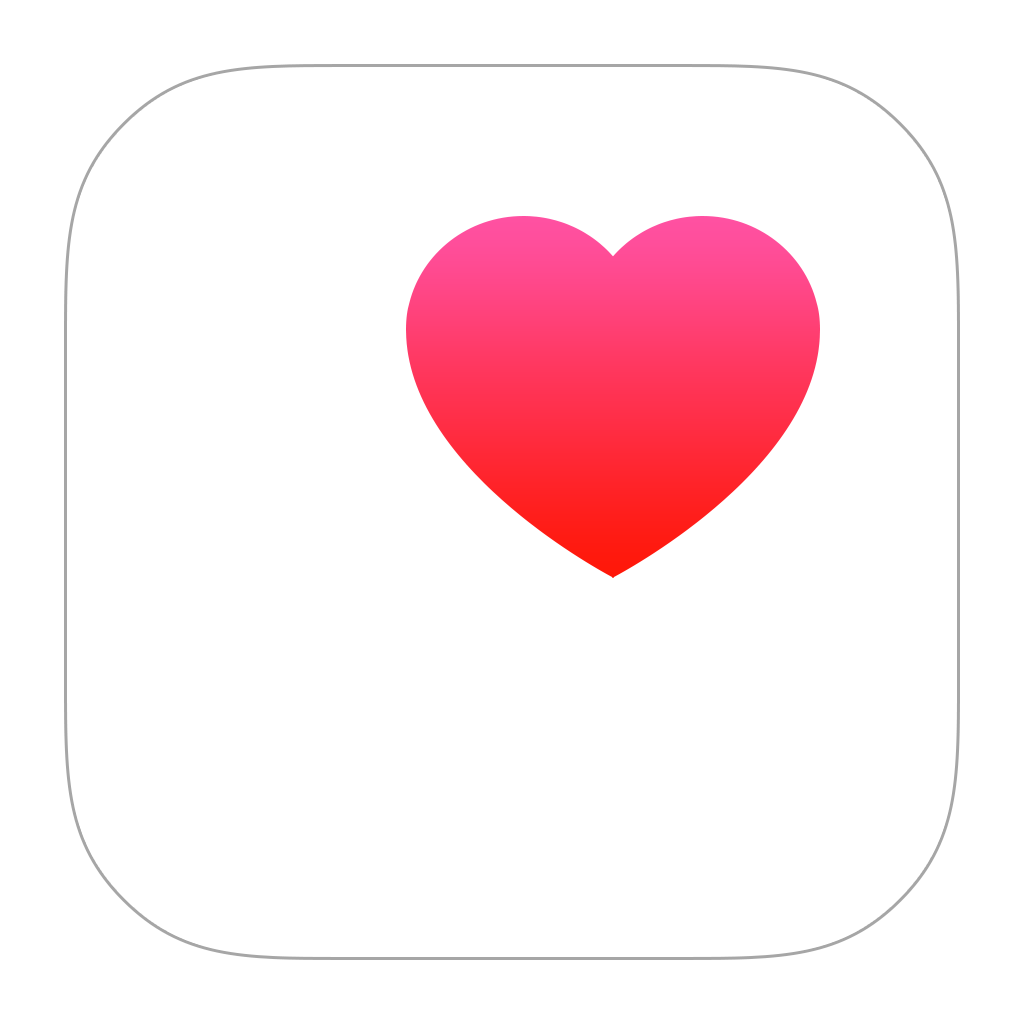 Health Icon PNG Image | Health icon, Health apps iphone, Iphone icon
