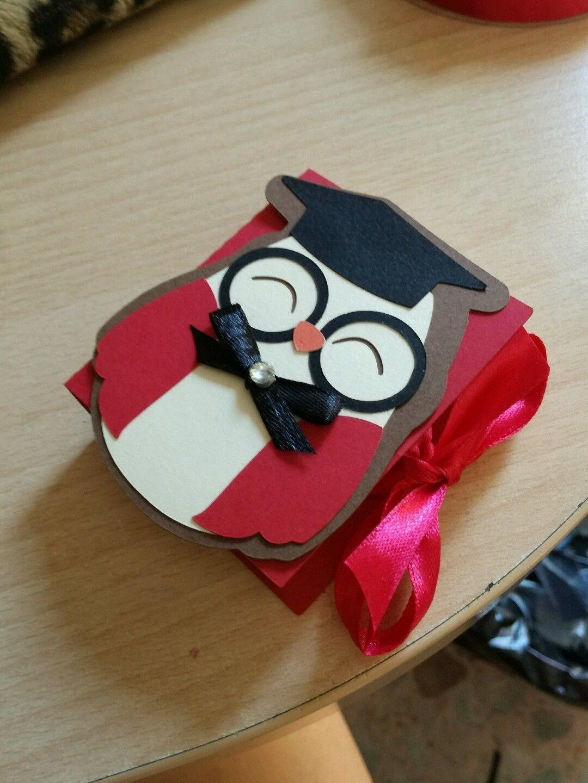 2 Scatola scatole bomboniera bomboniere porta confetti laurea tocco gufo  gufetto FOR SALE • EUR 1 91f5ad46b275
