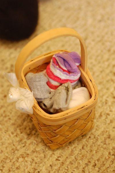 The Sock Basket (With images)   Basket, Socks, Small basket
