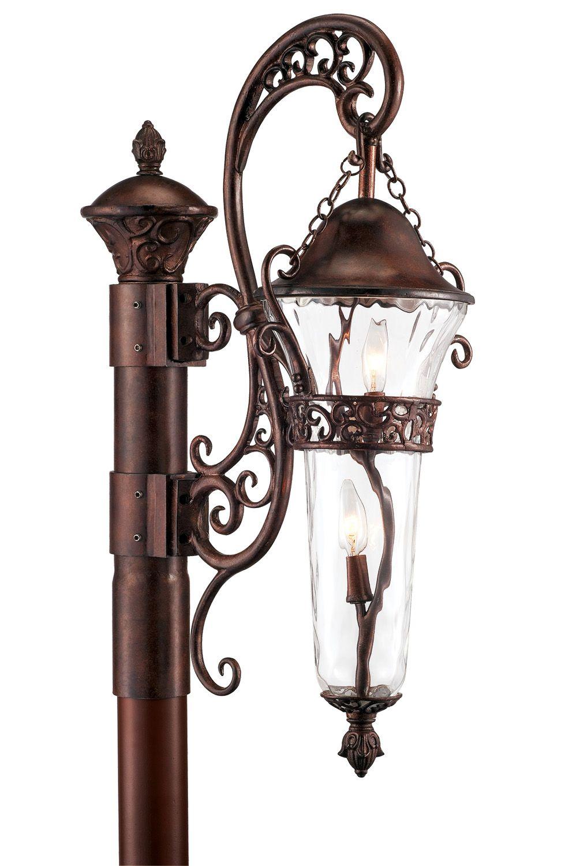Kalco Lighting 9422 Tp Anastasia Painted Outdoor Post Lighting Outdoor Post Lights Outdoor Lighting