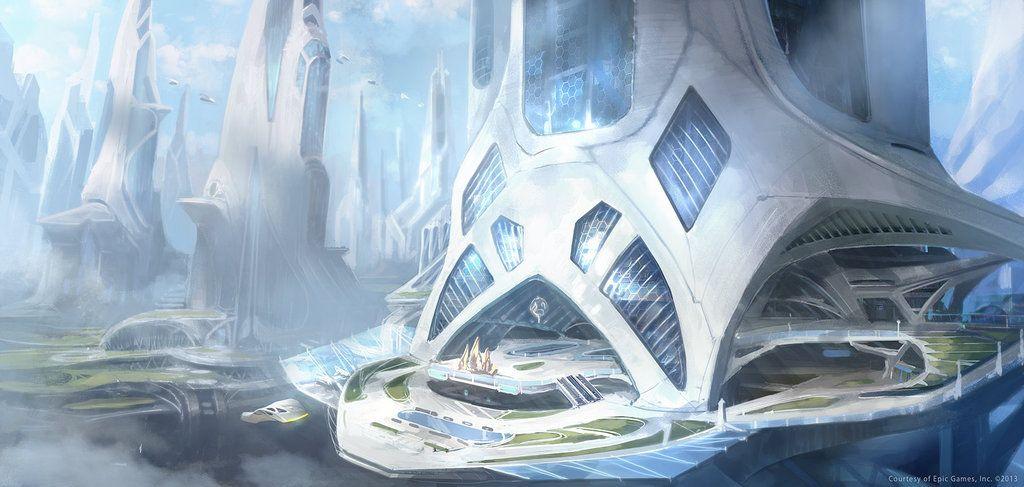 Skyscraper concept by M-Wojtala.deviantart.com on @DeviantArt