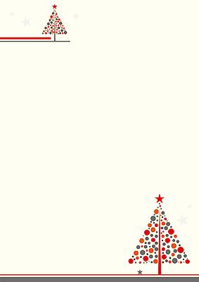 weihnachtsbrief avantgarde 132390 din a4 naturwei. Black Bedroom Furniture Sets. Home Design Ideas
