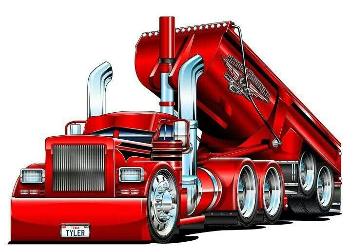 I Love A Good Dump Big Trucks Truck Art Dump Trucks