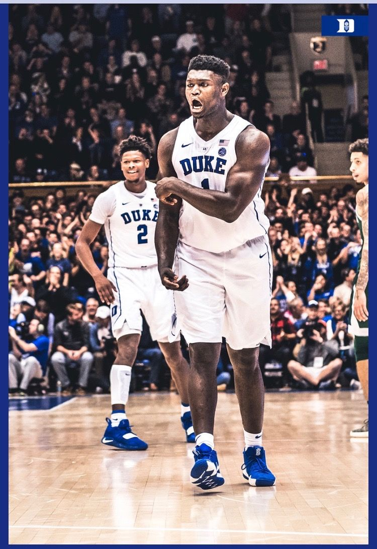 Zion Williamson Duke basketball, Basketball court