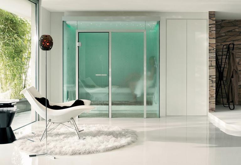 die neuen heimsaunen d12 dampfbad von klafs sauna zu hause pinterest feinsteinzeug. Black Bedroom Furniture Sets. Home Design Ideas