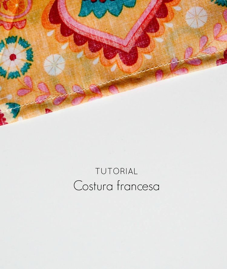Tutorial: Cómo hacer costura francesa   costura para todos ...